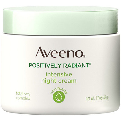 Aveeno Positively Radiant Night Cream