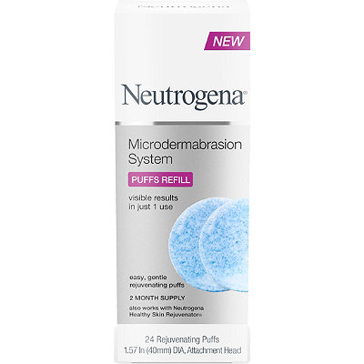 Neutrogena Microdermabrasion System Puff Refills