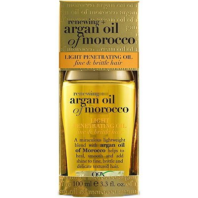 OGX Renewing Argan Oil Of Morocco Light Penetrating Oil Fine Brittle Hair
