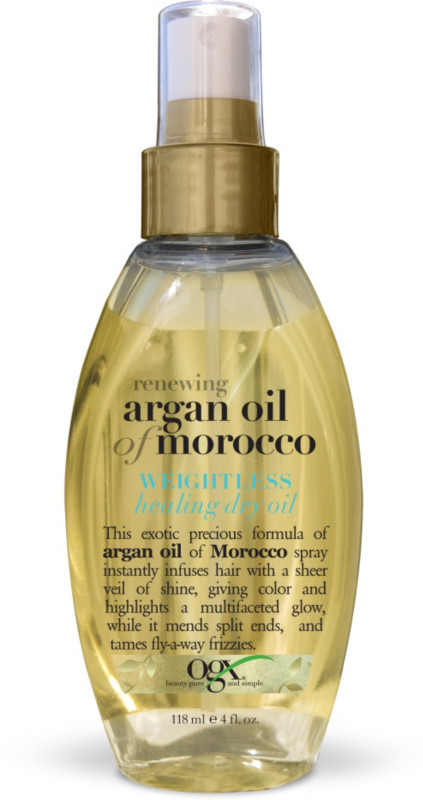 ogx renewing argan oil of morocco weightless healing dry. Black Bedroom Furniture Sets. Home Design Ideas