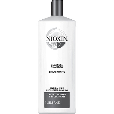 Cleanser Shampoo, System 2 (Fine/Progressed Thinning, Natural Hair)