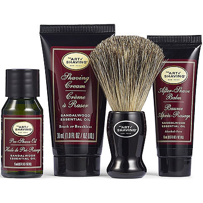 The Art of Shaving The 4 Elements of the Perfect Shave Sandalwood Starter Kit