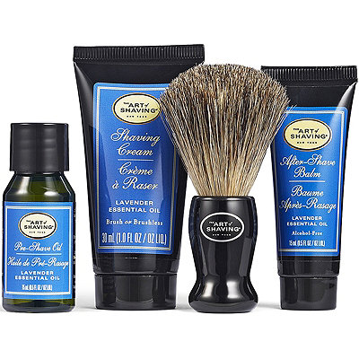 The Art of Shaving The 4 Elements of the Perfect Shave Lavender Starter Kit