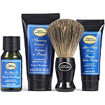 The 4 Elements of the Perfect Shave Lavender Starter Kit