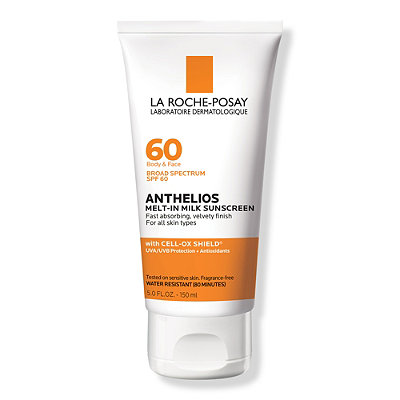 Anthelios 60 Face & Body Melt In Sunscreen Milk SPF 60
