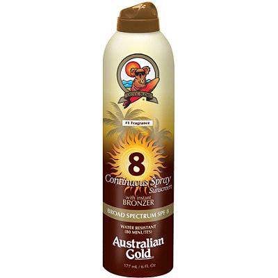 Australian GoldContinuous Spray w/ Instant Bronzer