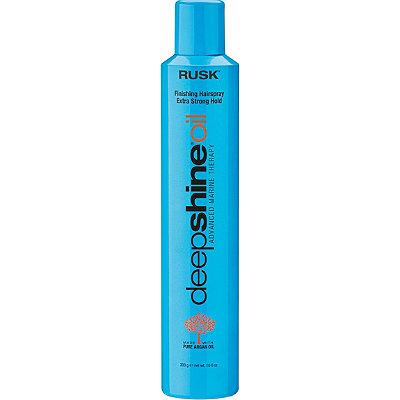 RuskDeep Shine Oil Finishing Hairspray Extra Strong Hold