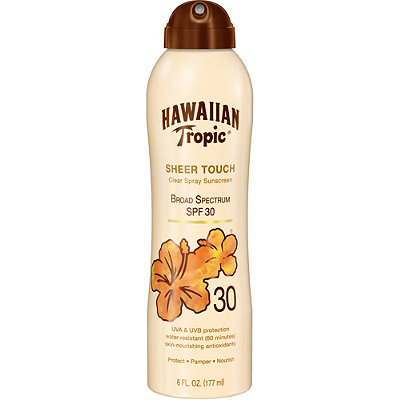 Hawaiian Tropic Sheer Touch Clear Spray Sunscreen