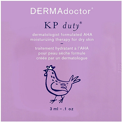 FREE sample KP Duty Moisture Therapy packette w/any Dermadoctor purchase