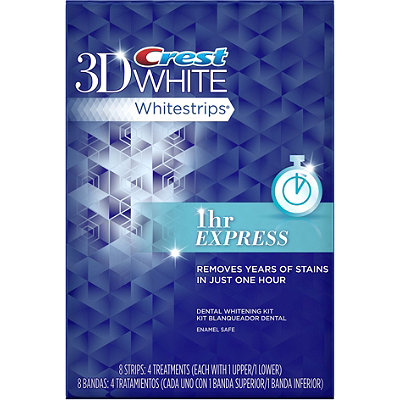 Crest 3D White Whitestrips 1 Hour Express