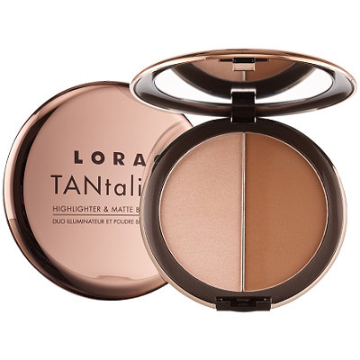 Lorac TANtalizer Highlighter & Matte Bronzer Duo
