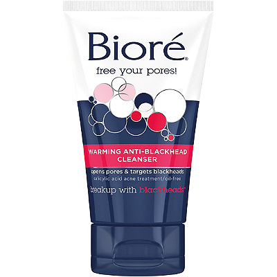 Bioré Complexion Clearing Warming Anti-Blackhead Cleanser