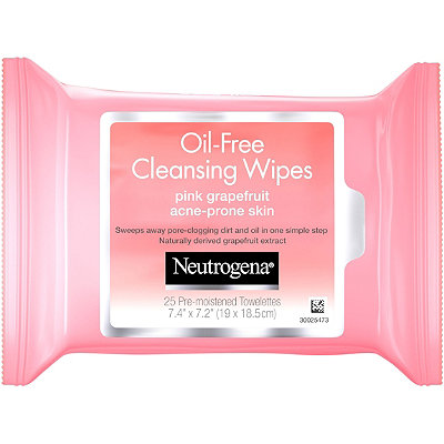 NeutrogenaPink Grapefruit Oil-Free Cleansing Wipes
