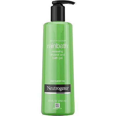 Neutrogena Rainbath Renewing Pear %26 Green Tea Shower and Bath Gel
