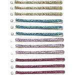 Karina Summer Color Glitter Bobby Pin 12 Ct