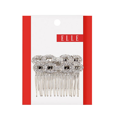 Elle Rhinestone Links Side Combs