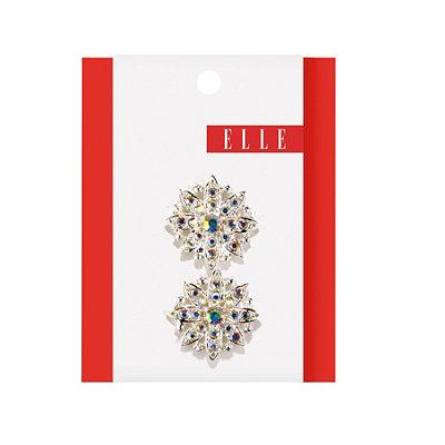 ElleIridescent Stone Jeanwire Flower Clip