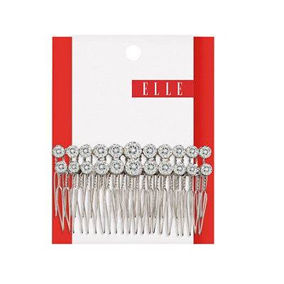 Elle Large Rhinestone Side Comb