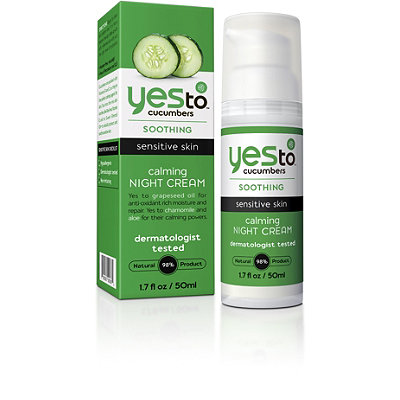 Yes to Yes to Cucumber Calming Night Cream