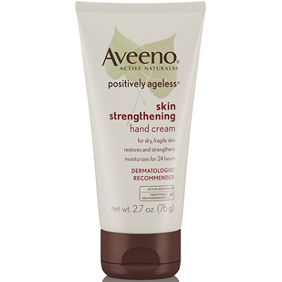 Aveeno Positively Ageless Skin Strengthening Hand Cream