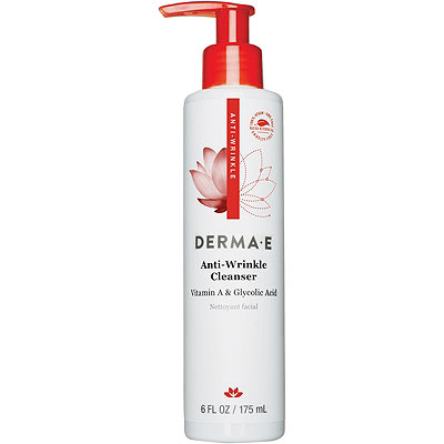 Derma E Anti-Wrinkle Vitamin A Glycolic Cleanser with Papaya