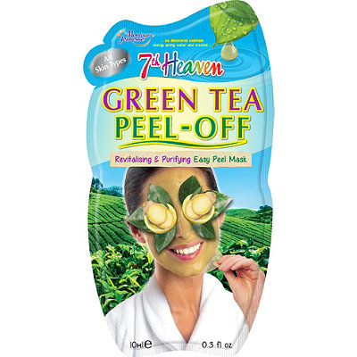 7th Heaven Green Tea Peel Off Face Masque