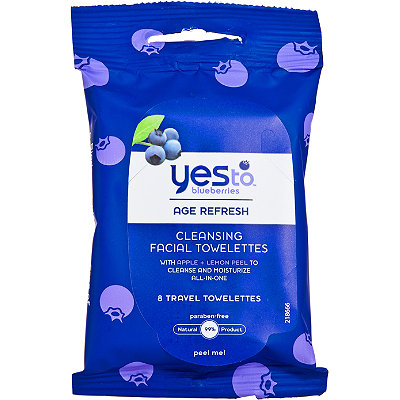 Yes to Blueberries Travel Cleansing Towelettes