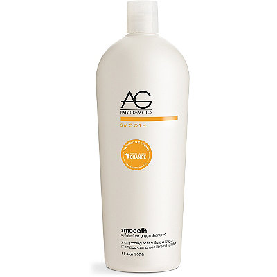 AG Hair Smooth Smoooth Sulfate-Free Argan %26 Coconut Shampoo