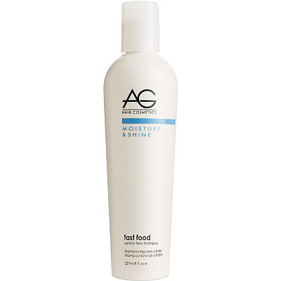 AG HairMoisture Fast Food Sulfate-Free Shampoo