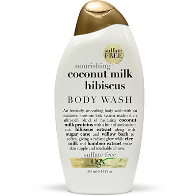 OGX Nourishing Coconut Milk Hibiscus Creamy Body Wash