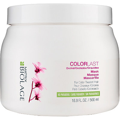 how to use biolage hair mask