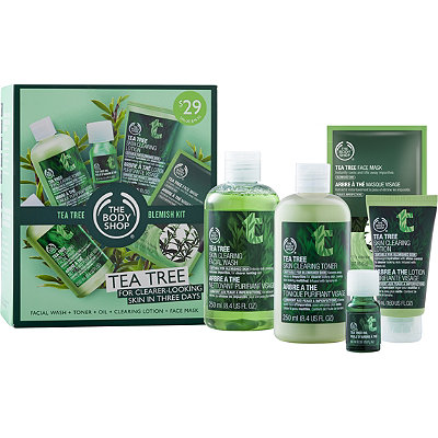 The Body Shop Tea Tree Blemish Kit