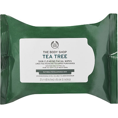 The Body Shop Tea Tree Cleansing Wipes 25 Ct