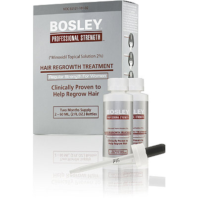 Bosley Hair Regrowth Treatment Regular Strength For Women