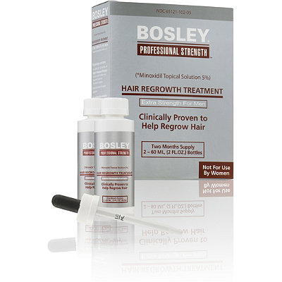 Bosley Hair Regrowth Treatment Extra Strength For Men