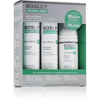 Bosley BosDefense Kit For Non Color-Treated Hair