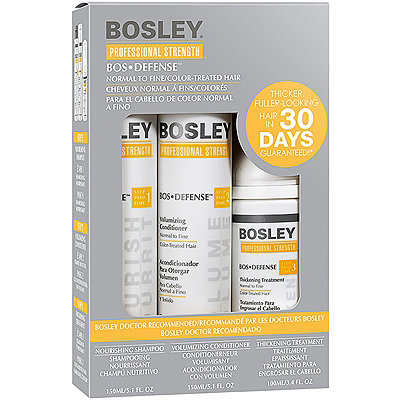 Bosley Bos Defense Kit For Color-Treated Hair