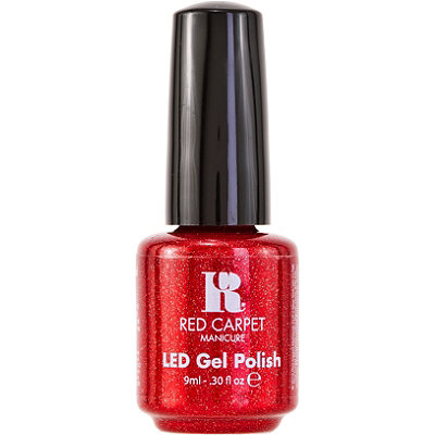 Red LED Gel Nail Polish Collection