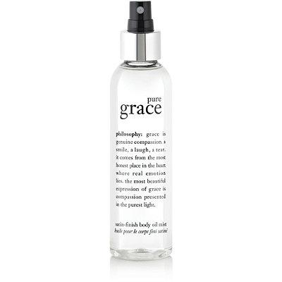 Pure Grace Satin-Finish Body Oil Mist