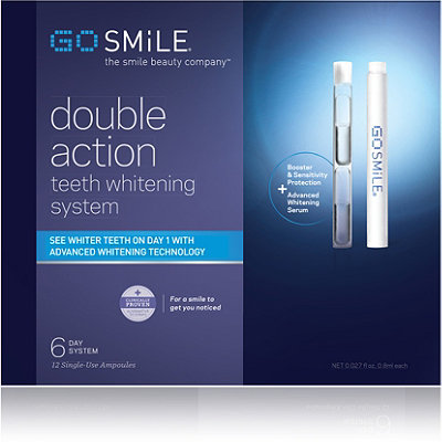 Go Smile Double Action Whitening System - 6 Days