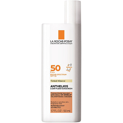 La Roche-PosayAnthelios 50 Mineral Tinted Ultra-Light Sunscreen Fluid