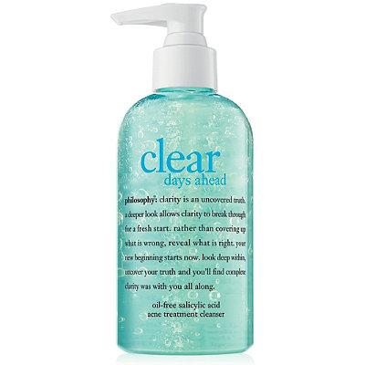 Clear Days Ahead Oil-Free Salicylic Acid Acne Treatment Cleanser