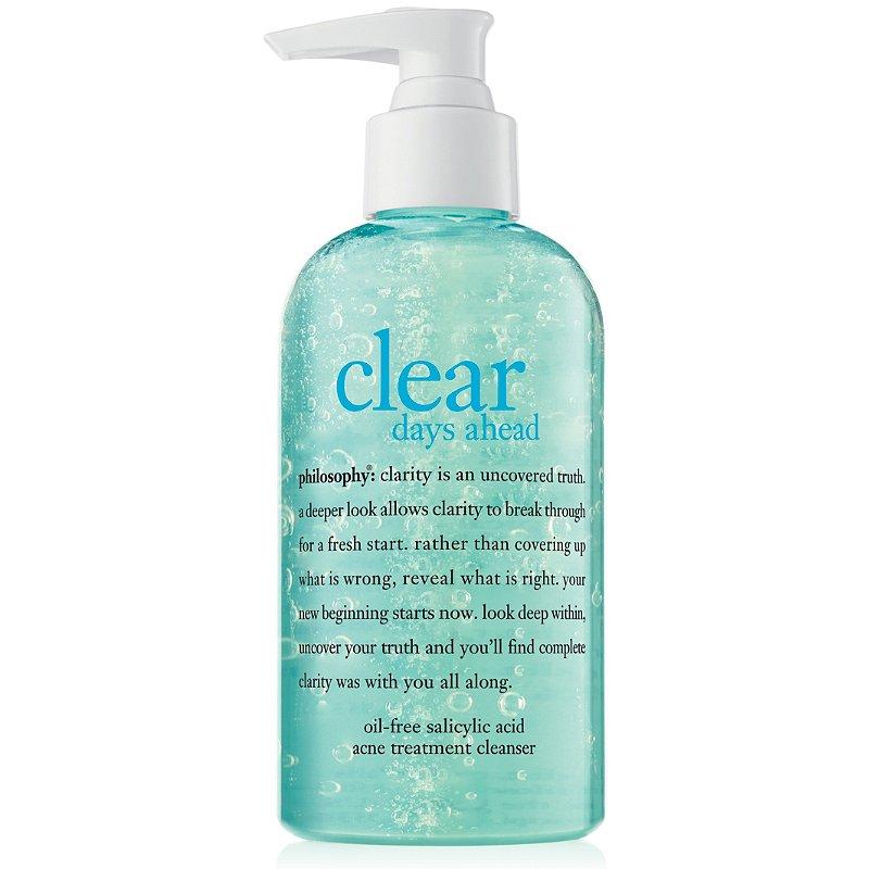 Philosophy Clear Days Ahead Oil Free Salicylic Acid Acne Treatment