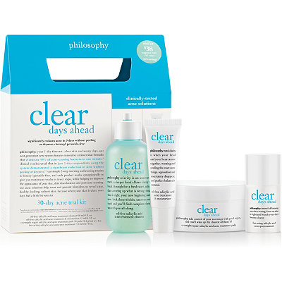 Philosophy Clear Days Ahead 30 Day Acne Trial Kit