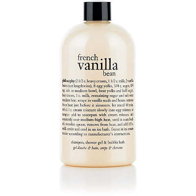 PhilosophyFrench Vanilla Bean Shampoo, Shower Gel & Bubble Bath