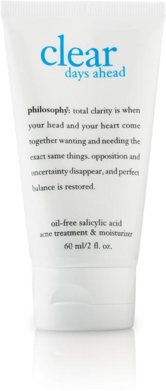 Philosophy Clear Days Ahead Oil-Free Salicylic Acid Acne Treatment &  Moisturizer | Ulta Beauty