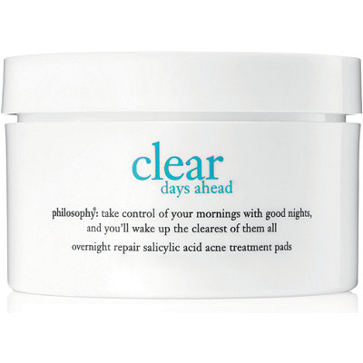Philosophy Clear Days Ahead Overnight Repair Salicylic Treatment Pads