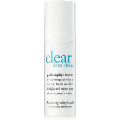 PhilosophyClear Days Ahead Fast-Acting Salicylic Acid Acne Spot Treatment