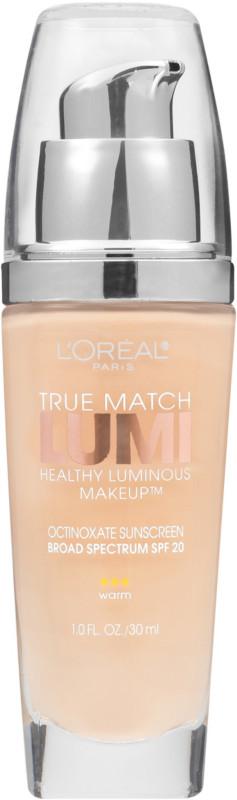 True Match Lumi Healthy Luminous Makeup by L'oréal