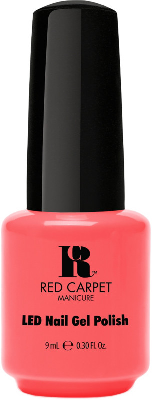 Red Carpet Manicure Orange Led Gel Nail Polish Collection
